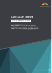 Inoculants Market by Type (Agricultural Inoculants and Silage Inoculants), Microbe (Bacterial and Fungal), Crop Type (Oilseeds & Pulses, Cereals & Grains, Fruits & Vegetables, and Forage), and Region - Global Forecast to 2025