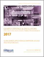Quartz Crystals & Oscillators-Global Markets, Applications & Competitors: 2017-2023 Analysis & Forecasts