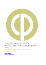 Global Royalty Rate Trends in Pharma and Biotech Dealmaking 2014-2019