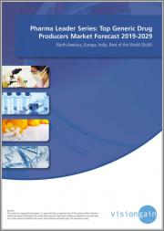 Pharma Leader Series - Top Generic Drug Producers Market Forecast 2019-2029: North America, Europe, India, Rest of the World (RoW)