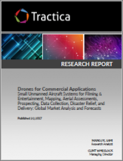 Drones for Commercial Applications - Small Unmanned Aircraft Systems for Filming & Entertainment, Mapping, Aerial Assessments, Prospecting, Data Collection, Disaster Relief, and Delivery: Global Market Analysis and Forecasts