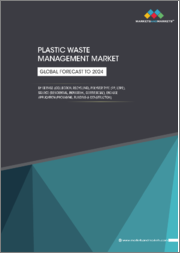 Plastic Waste Management Market by Service (Collection, Recycling), By Polymer Type (PP, LDPE), By Source (Residential, Commercial, Industrial), By End-Use Applications (Packaging, Building & Construction), Region - Global Forecast to 2024