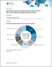 Worldwide Enterprise Storage Systems Market Shares, 2018: ODMs and Flash Underpin a Resurgent Enterprise Storage Systems Market