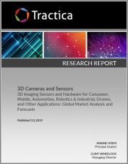 3D Cameras and Sensors - 3D Imaging Sensors and Hardware for Consumer, Mobile, Automotive, Robotics & Industrial, Drones, and Other Applications: Global Market Analysis and Forecasts