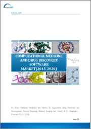 Computational Medicine and Drug Discovery Software Market: By Tools (Software, Databases and Others); By Application (Drug Discovery and Development, Disease Modeling, Medical Imaging and Others) & By Geography - 2019-2024
