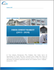 Fiber Cement Market: By Type (Asbestos, Polypropylene, PVA, Others); By Production Process (Hatschek, Extrusion, Perlite); By Product (Flat Sheet, Laminated Skirt, Others); By Application (Agriculture, Residential, Others); By Geography - 2019-2024