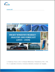 Smart Windows Market: By Technology (Passive [Retrofit, Thermochromic, Photochromic], Active On-Demand [PDLC, SPD, EC], Self-Cleaning); By Application (Automotive, Commercial, Residential, Aerospace, Others); By Geography - 2019-2024