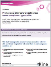 Professional Skin Care Global Series - Base Year 2019