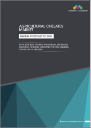 Agricultural Chelates Market by Type (EDTA, EDDHA, DTPA, IDHA), Application (Soil, Seed Dressing, Foliar Sprays, Fertigation), Micronutrient Type (Iron, Manganese), Crop Type, End Use, and Region - Global Forecast to 2025