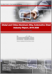 Global and China Aluminum Alloy Automotive Sheet Industry Report, 2019-2025