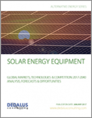 Solar Energy Equipment 2018 - Global Markets, Products, End-Users & Competition: Analysis, Forecasts & Opportunities