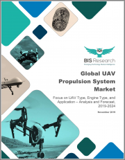 Global UAV Propulsion System Market: Focus on UAV Type, Engine Type, and Application - Analysis and Forecast, 2019-2024