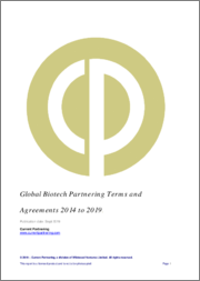 Global Biotech Partnering Terms and Agreements 2012-2018: Deal Trends, Players and Financials