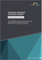 Abrasion Resistant Coatings Market by Type (Metal/Ceramic, Polymer), End-Use Industry (Oil & Gas, Marine, Power Generation, Transportation, Mining, Construction), Region (North America, APAC, Europe, MEA, South America) - Global Forecast to 2024