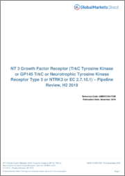 NT 3 Growth Factor Receptor (TrkC Tyrosine Kinase or GP145 TrkC or Neurotrophic Tyrosine Kinase Receptor Type 3 or NTRK3 or EC 2.7.10.1) - Pipeline Review, H1 2019