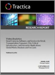 Video Analytics - Smart Cameras, Software, and Services for Government, Retail, Consumer, Smart City, Critical Infrastructure, and Other Application Markets: Global Market Analysis and Forecasts