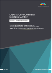 Laboratory Equipment Services Market by Type (Repair & Maintenance, Calibration, Validation), Contract (Standard, Custom), Equipment (Analytical, Equipment, General, Support), Service Provider (OEM), End User (Pharmaceutical) - Global Forecast to 2024