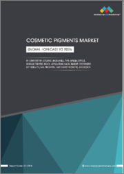 Cosmetic Pigments Market by Composition (Organic, Inorganic), Type (Special Effect, Surface treated, Nano), Application (Facial Makeup, Eye Makeup, Lip Products, Nail Products, Hair Color Products), and Region - Global Forecast to 2024