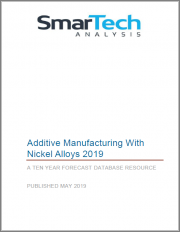 OPPORTUNITIES FOR NICKEL ALLOYS IN ADDITIVE MANUFACTURING - 2017: AN OPPORTUNITY ANALYSIS AND TEN-YEAR FORECAST