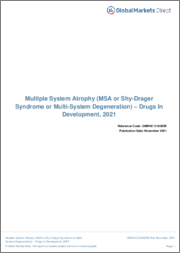 Multiple System Atrophy (MSA or Shy-Drager Syndrome or Multi-System Degeneration) - Pipeline Review, H2 2019