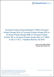 Tyrosine Protein Kinase Receptor TYRO3 (Tyrosine Protein Kinase BYK or Tyrosine Protein Kinase DTK or Tyrosine Protein Kinase RSE or Tyrosine Protein Kinase TIF or Tyrosine Protein Kinase SKY or TYRO3 or EC 2.7.10.1) - Pipeline Review, H1 2019