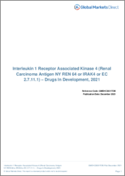 Interleukin 1 Receptor Associated Kinase 4 (Renal Carcinoma Antigen NY REN 64 or IRAK4 or EC 2.7.11.1) - Pipeline Review, H1 2019