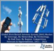 Global Distributed Antenna System (DAS) Market By Coverage (Indoor Vs Outdoor), By Ownership (Carrier Ownership, Neutral Host & Enterprise Ownership), By Technology, By End User, By Region, Competition Forecast & Opportunities, 2013 - 2023
