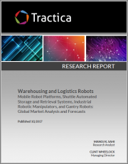 Warehousing and Logistics Robots - Mobile Robot Platforms, Shuttle Automated Storage and Retrieval Systems, Industrial Robotic Manipulators and Gantry Robots: Global Market Analysis and Forecasts
