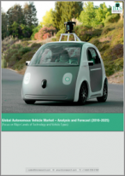 Global Autonomous Vehicle Market: Focus on Level of Autonomy for Passenger Cars and Commercial Vehicles - Analysis and Forecast: (2018-2028)