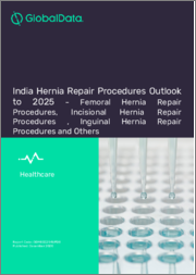 India Hernia Repair Procedures Outlook to 2025 - Femoral Hernia Repair Procedures, Incisional Hernia Repair Procedures, Inguinal Hernia Repair Procedures and Others