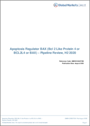 Apoptosis Regulator BAX (Bcl 2 Like Protein 4 or BCL2L4 or BAX) - Pipeline Review, H2 2018