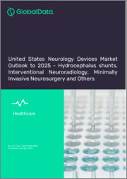 United States Neurology Devices Market Outlook to 2025 - Hydrocephalus Shunts, Interventional Neuroradiology Devices, Neurosurgical Products and Others