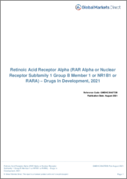 Retinoic Acid Receptor Alpha (RAR Alpha or Nuclear Receptor Subfamily 1 Group B Member 1 or NR1B1 or RARA) - Pipeline Review, H1 2019