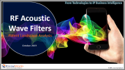 RF Acoustic Wave Filters Patent Landscape 2019