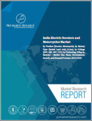 India Electric Scooters and Motorcycles Market by Product, by Battery Type (Sealed Lead Acid, Lithium-ion), by Voltage (36V, 48V, 60V, 72V), by Technology - Market Size, Share, Development, Growth, and Demand Forecast, 2013-2025