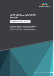 Volt/VAr Management Market by Application (Distribution, Transmission, and Generation), Component (Hardware and Software and Services), End-User (Electric Utility and Industrial), and Region - Global Forecast to 2024