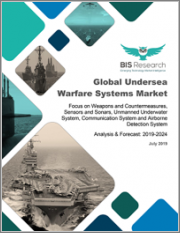 Global Undersea Warfare Systems Market: Focus on Weapons and Countermeasures, Sensors and Sonars, Unmanned Underwater System, Communication System and Airborne Detection System - Analysis and Forecast, 2019-2024