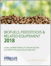 BioFuels 2018 - BioFuel Energy and Feedstocks: Global Markets, End-Users, Types, and Competitors: Analysis & Forecasts