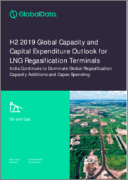 H2 2019 Global Capacity and Capital Expenditure Outlook for LNG Regasification Terminals - India Continues to Dominate Global Regasification Capacity Additions and Capex Spending