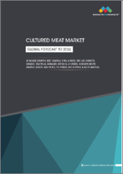 Cultured Meat Market by Source (Poultry, Beef, Seafood, Pork, and Duck), End-Use (Nuggets, Burgers, Meatballs, Sausages, Hot Dogs), and Region (North America, Europe, Asia Pacific, Middle East & Africa, South America) - Global Forecast to 2032