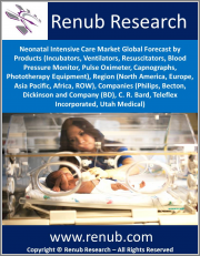 Neonatal Intensive Care Market Global Forecast by Products, Region (North America, Europe, Asia Pacific, Africa, ROW), Companies