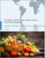 Fruits and Vegetables Coatings Market by Product and Geography - Global Forecast and Analysis 2019-2023