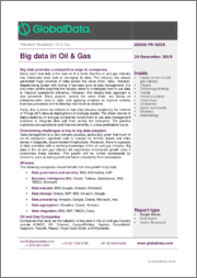Big Data in Oil & Gas - Thematic Research