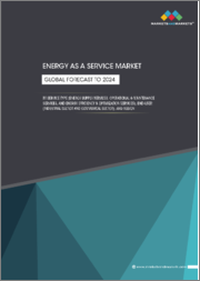Energy as a Service Market by Services Type (Energy Supply Services, Operational and Maintenance Services, and Energy Efficiency and Optimization Services) End-User (Commercial and Industrial), and Region - Global Forecast to 2024