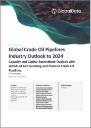 Global Crude Oil Pipelines Industry Outlook to 2024 - Capacity and Capital Expenditure Outlook with Details of All Operating and Planned Crude Oil Pipelines