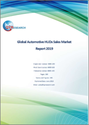 Global Automotive HUDs Sales Market Report 2019