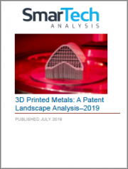3D Printed Metals: A Patent Landscape Analysis - 2018
