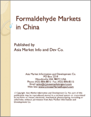 Formaldehyde Markets in China