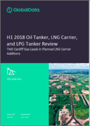 H1 2018 Oil Tanker, LNG Carrier, and LPG Tanker Review - TMS Cardiff Gas Leads in Planned LNG Carrier Additions