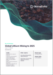 Global Lithium Mining to 2022 - Lithium-ion battery market growth driving two-fold increase in production over the next 4 years